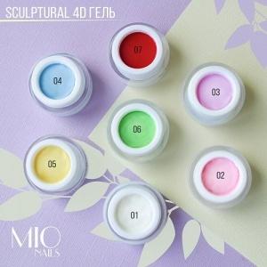 Скульптурный гель-пластилин 4D Mio Nails