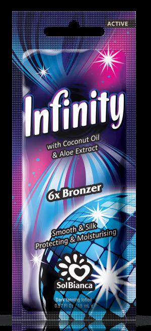 Крем Infinity с маслом кокоса, экстрактом алоэ и бронзаторами