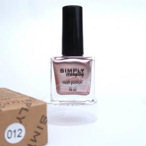 Лак для стемпинга SIMPLY №12