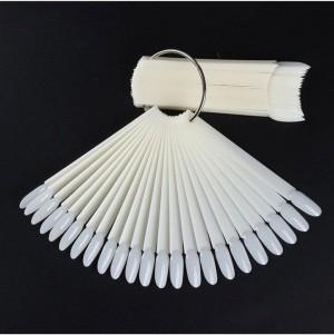 Палитра - Веер овальные, 50 штук на кольце