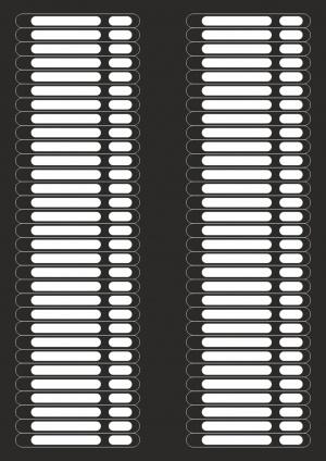 Наклейки на типсы-палитру (62 шт. на листе)