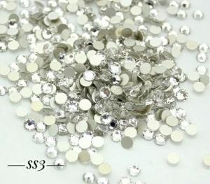 Стразы серебро SS3, 1440шт