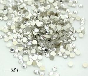 Стразы серебро SS4, 1440шт