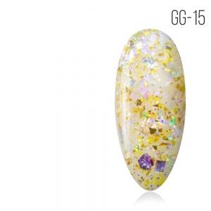 GG-15 Glitter gel collection