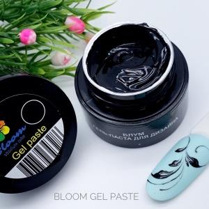 Гель-паста Bloom черная