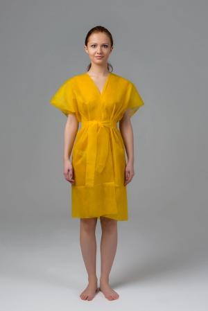 Халат-кимоно без рукавов