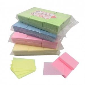 Безворсовые салфетки цветные