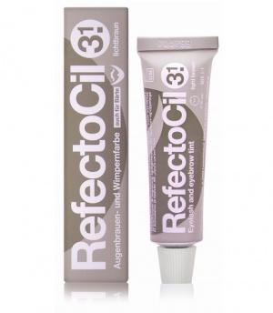 Краска для бровей и ресниц RefectoCil светло-коричневый