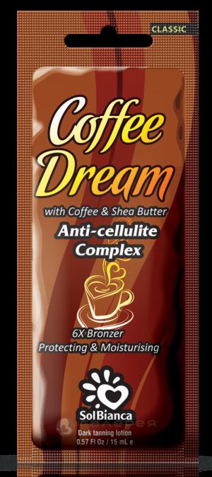 Крем Coffee Dream с маслом кофе, маслом Ши и бронзаторами