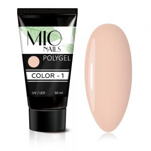 Полигель MIO Nails COLOR №01 цветной