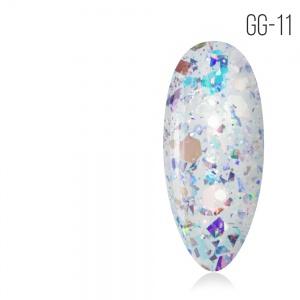GG-11 Glitter gel collection