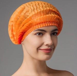 Шапочка-шарлотка (оранжевая)