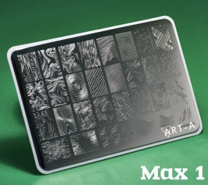 Пластина ART-A для стемпинга MAX 01