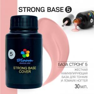 База Bloom Strong жесткая оттенок №5 30мл