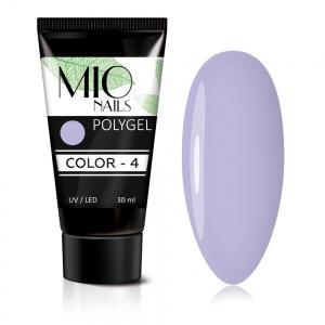 Полигель MIO Nails COLOR №04 цветной