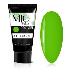 Полигель MIO Nails COLOR №10 цветной